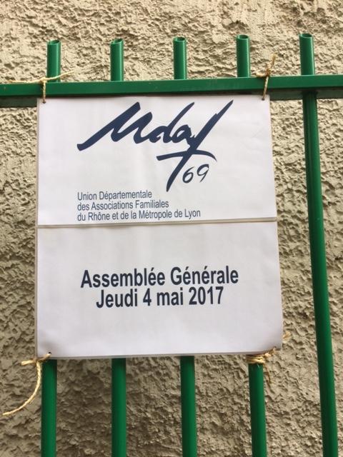 Assemblée Générale - UDAF69 - Rapport d'activités