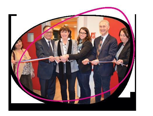 L'UDAF inaugure « L'Escapade », la première  micro-crèche d'application du Rhône